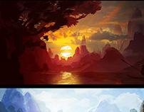 Environment thumbnails