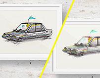 Illustrations / Car / Personal work