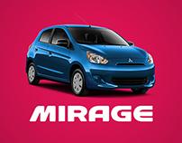 """Bienvenida al mundo"" - Mitsubishi Mirage"