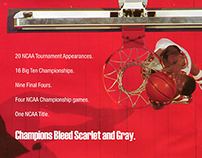 Ohio State Champions Bleed Scarlet and Gray Campaign