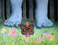 Enchanted Forest: Watercolor Illustration (Fall 2014)