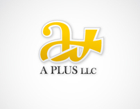 A plus - logo design