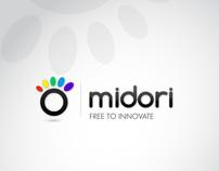Midori - logo design