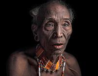 Portrait of Konyak Tribe