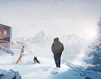 Winter Chalet - Interactive Scene - Unreal Engine 4