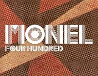 Monel 400 Typeface