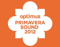 Optimus Primavera Sound Porto 2012 PROMO