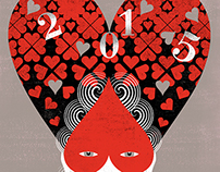 HAPPY NEW YEAR 2015 personal art