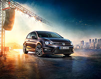 VW Club & Lounge Billboard Campaign 2015
