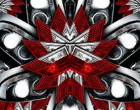 BMW: Kaleido Projection Wallpaper