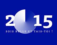 Happy New Year : Bonne Année // 2015