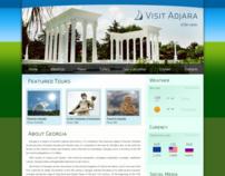 Web Page for travel agency Visit Adjara
