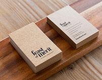 Feast of Merit Café Branding