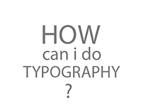 How can i do Typography