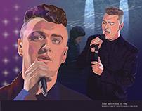 Illustration of Sam Smith