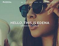 EDENA | Creative Template - One page option