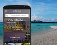 Groupon Getaways App