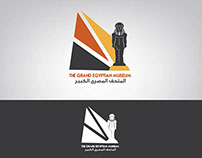 The Grand Egyptian Museum Logo