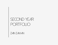 Second Year Portfolio