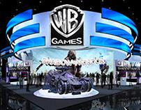 WB - Warner Bros. Game e3 Exhibit Design Concept