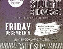 USC Student Showcase Poster for SceneSC