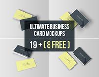 Ultimate Business Card Mockups - Free Download