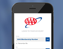 AAA Mobile App Design - Concepts For Fun