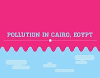 "Pollution in Cairo ""Info-graphic"""