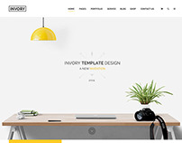 Invory - Multi Purpose Web Template