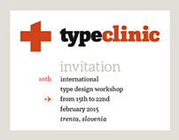 Invitation to 10th TypeClinic, winter edition