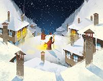 """Christmas Eve"" • ""Бъдни вечер"" children's book"