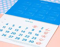 Vasava Store wall calendars