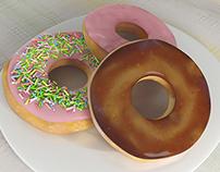 Donuts Vray