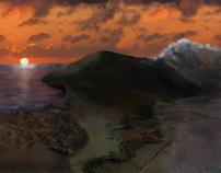 Landscape composition /Animation