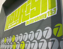 Nourish Food Pantry Mural