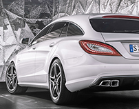 CLS 63 AMG SHOOTING BRAKE /FULL CGI/PERONAL WORK