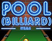 Pool (billiard) items
