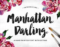 Manhattan Darling Typeface