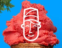 Mes Amis Ice cream Rebranding
