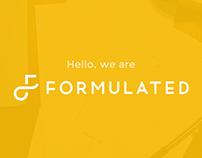 Formulated Design Rebranding