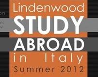 Lindenwood University Study Abroad Poster