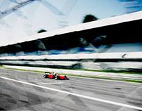 racing at Monza