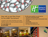 Holiday Inn Bowling Tournament Ad