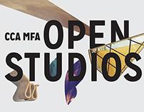 2015 MFA Fine Arts Open Studios Collateral
