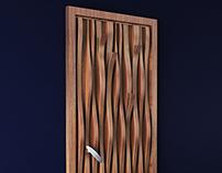 """""""Bark Waves"""" Door Concept Design"""