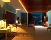 hotel room #201