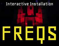 Digital Installation : FREQS