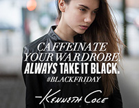 Kenneth Cole Social Media for Black Friday