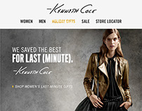 Kenneth Cole  E-mail Blasts