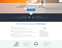FREE Webinar Landing Page Supreme Shortcodes Plugin
